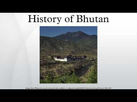 History of Bhutan