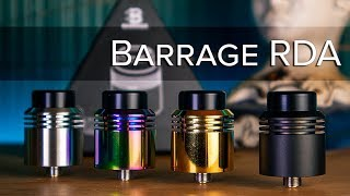 AsMODus X Thesis Barrage RDA 24mm – AsMODus Quality Vape Mods And Atomizers