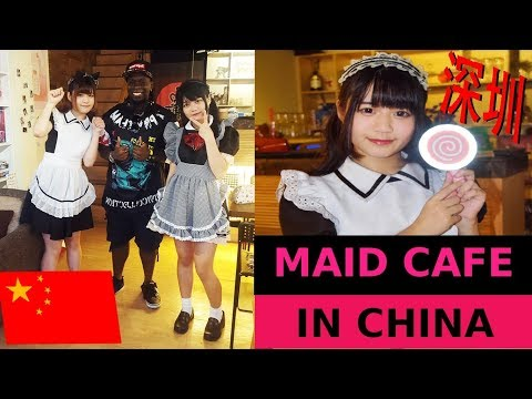MAID CAFE IN CHINA