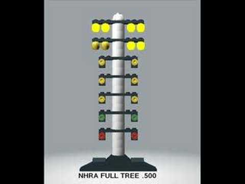 Lego NHRA .500 Full Tree Practice Simulation - YouTube