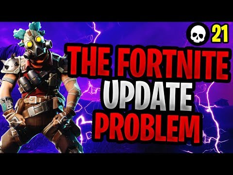 The MAJOR Problem With NEW Fortnite Updates... (Fortnite New Item Update)