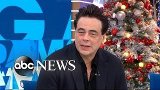 Benicio Del Toro dishes on