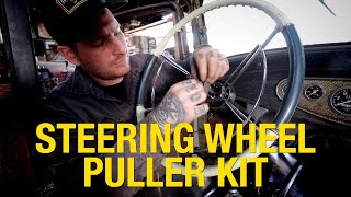How to Use the Steering Wheel Puller Kit - Eastwood