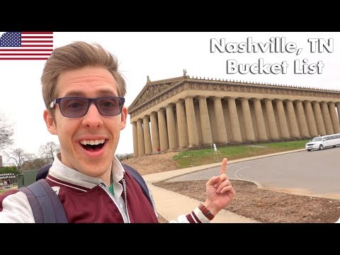 Nashville Tennessee Bucket List Travel Vlog | Evan Edinger Travel