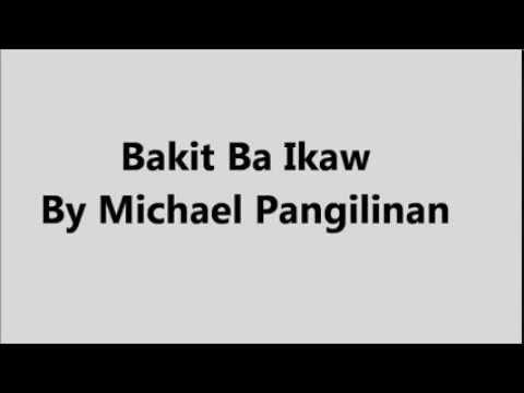 Bakit Nga Ba Mahal Mo Ako – Dello Lyrics - videokeman.com