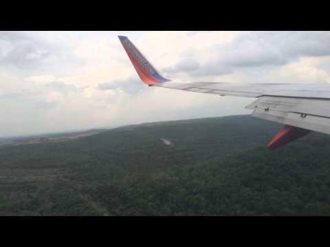 Landing at Branson airport