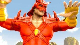Mortal Kombat Komplete Edition - Shazam Shao Kahn & Superman Kintaro Tag Ladder Playthrough