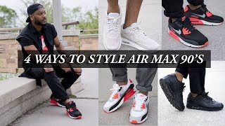 Gambar cover 4 Ways to Style Nike Air Max 90's