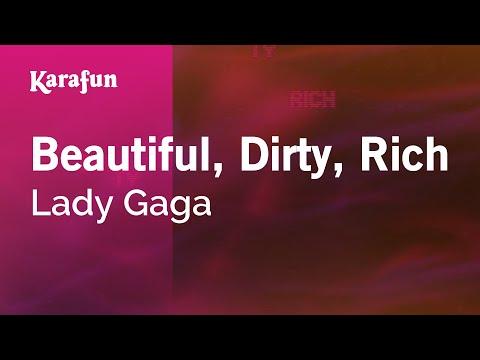 Karaoke Beautiful, Dirty, Rich - Lady Gaga *