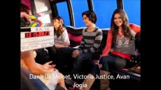 five fingaz to the face- Victorious cast