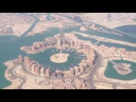 Doha From Above | Awesome Footage Near Airport | Qatar Airways | FULL HD