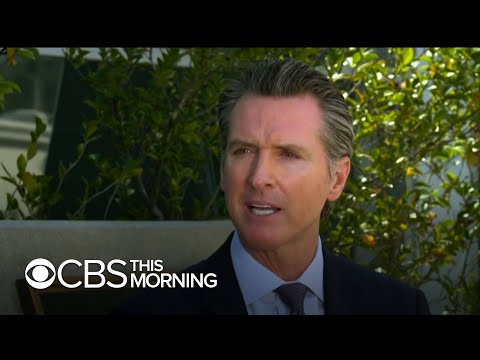 "California Governor Gavin Newsom Touts State's ""early Action"" On Coronavirus"