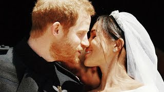 За свадьбой принца Гарри и Меган Маркл с блуждающими улыбками наблюдали девушки всего мира