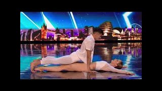 teenage lovers perform most romantic dance routine auditions 4 britains got talent 2017