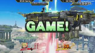 ESV Smash 4 Weekly #5 - LAGr   Spam Cop (Cloud, Mario) vs LAGr   Shoghi (Robin) - Grand Finals