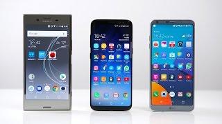 Sony Xperia XZ Premium vs. Samsung Galaxy S8 vs. LG G6: Benchmark | SwagTab