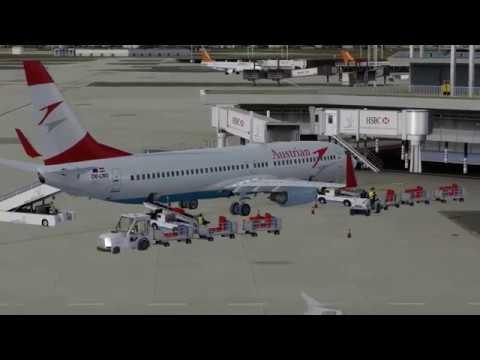 Flight from Paris  to Innsbruck (Austrian)