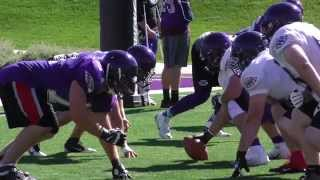 Wisconsin Guard Soldier, UW-Whitewater football player highlight
