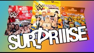 WWE Wrestling surprise blind bag special, with Lego Minifig - Surpriiise!