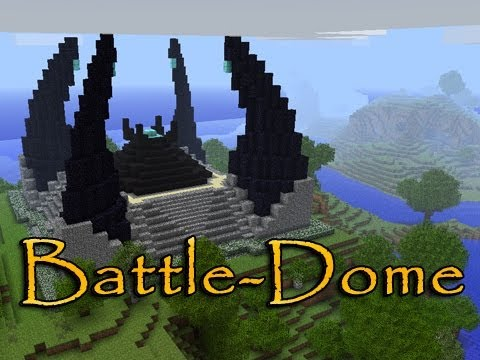 how to create a dome in minecraft