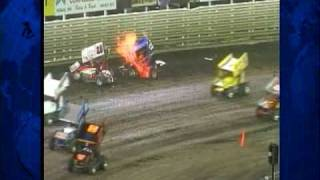 Thousands Watch Race Track Rescue