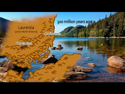 Earth.Parts #20 - Continental collisions & mountain-building by orogeny