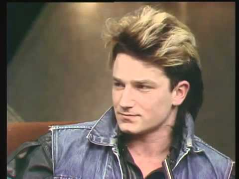 Bono on the Late Late Show  1983