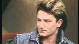 Bono on the 'Late Late Show' - 1983