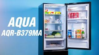 Trên tay tủ lạnh AQUA AQR-B379MA: thiết kế thanh lịch, đa dụng với ngăn Magic Room 5 trong 1