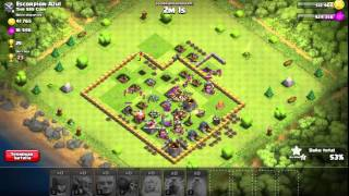 ZEUSKinG_HN Clash Of Clans ataque 100%