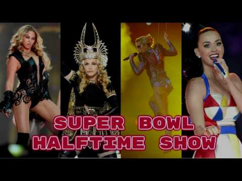Katy perry vs Beyonce vs Lady gaga vs Madonna: Battle Performance - HALFTIME SHOW SUPERBOWL -