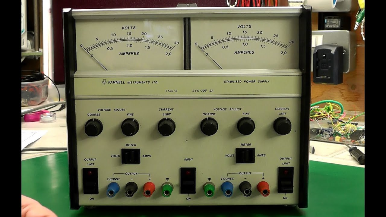 Farnell Lt30 2 Power Supply Repair Amp Modifications