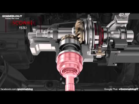 FIAT 500X | How 4WD Transmission Works