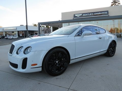 2010 Bentley Continental Supersports Start Up, Exhaust, and In Depth Review