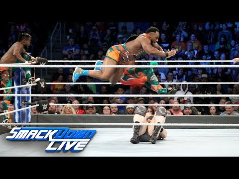 The New Day vs. The Bar & Big Show: SmackDown LIVE, Nov. 13, 2018
