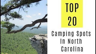 Amazing Camping Spots Iฑ North Carolina. TOP 20