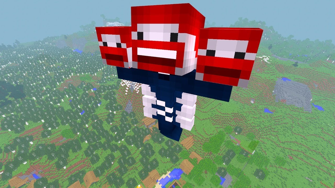 DIE GANZE WELT IST BENX in Minecraft Live