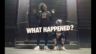 """What Happened"" by LES TWINS, NYC #likemike 