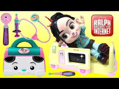 Baby Vanellope RALPH BREAKS THE INTERNET Visits Doc McStuffins Toy Hospital