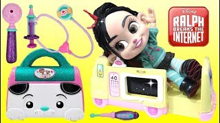 Baby Vanellope Ralph Breaks the Internet Visits a Hospital
