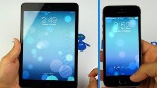 iOS 7 Review Arabic - اَيباد و اَيفون iOS 7 معاينة \ مراجعة نظام تشغيل