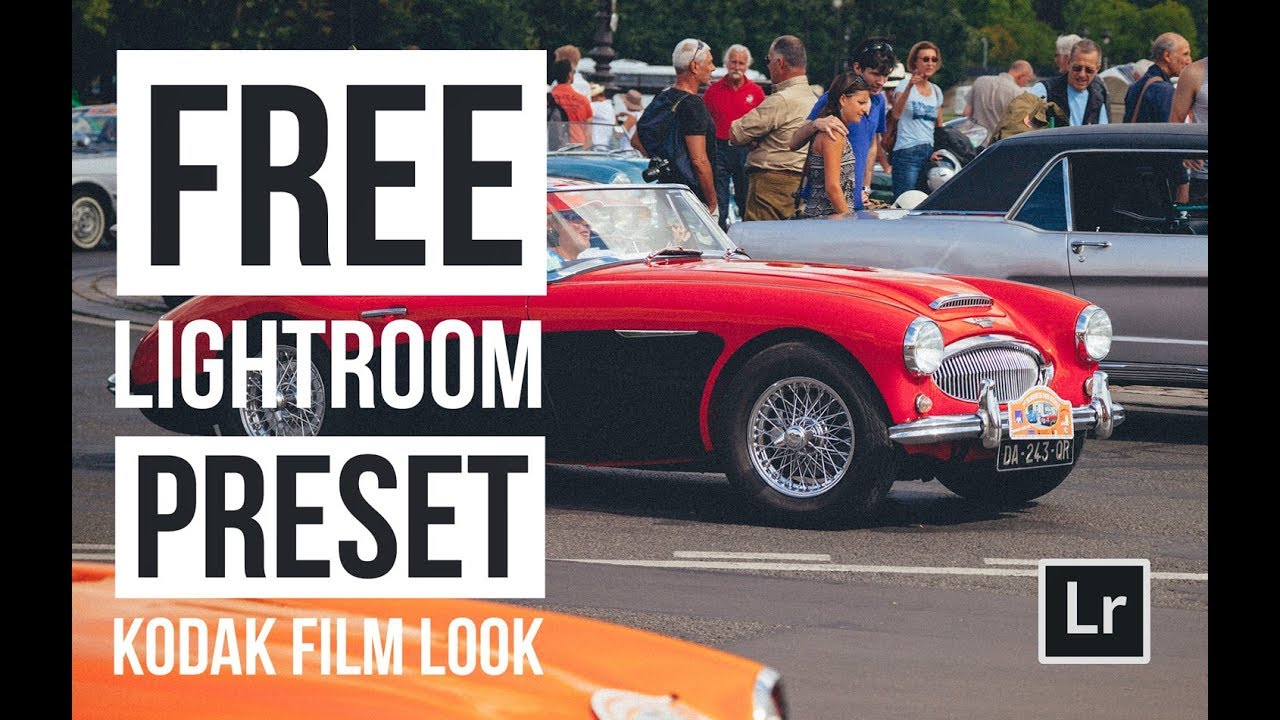 Kodak Film Look - Free Lightroom Preset!