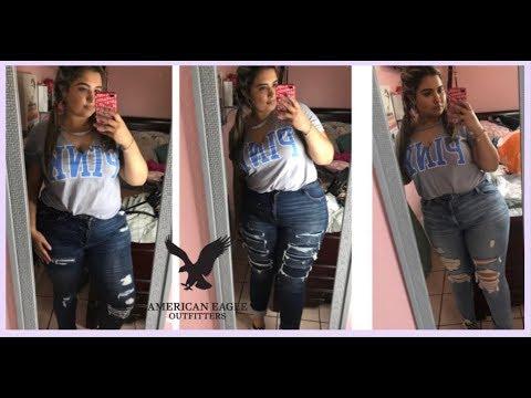 Black Friday American Eagle Jeans Plus Size Haul