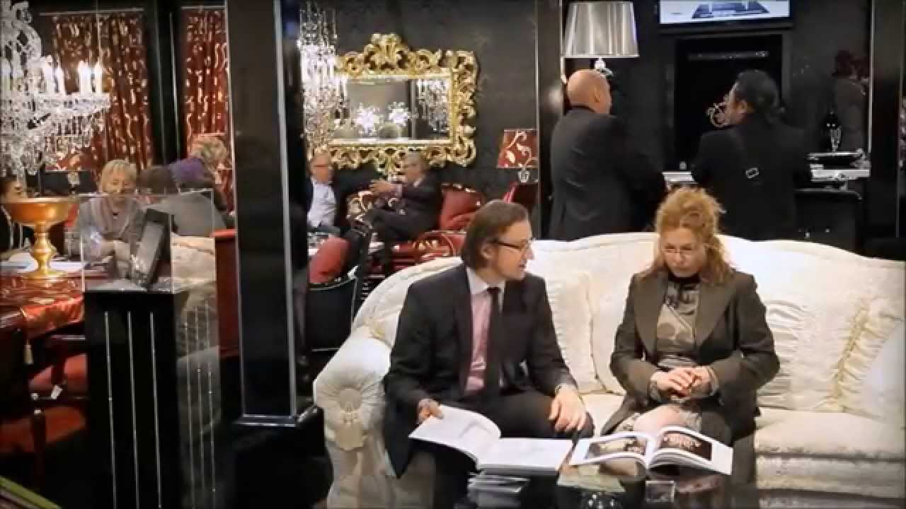 finkeldei polsterm bel auf der i saloni 2010 youtube. Black Bedroom Furniture Sets. Home Design Ideas