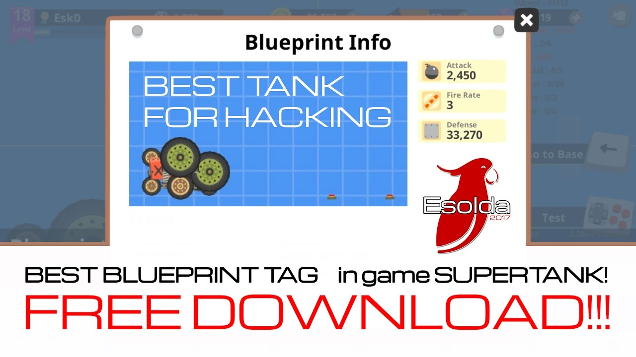 Free download blueprint tag best tank in supertank rumble free download blueprint tag best tank in supertank rumble malvernweather Choice Image