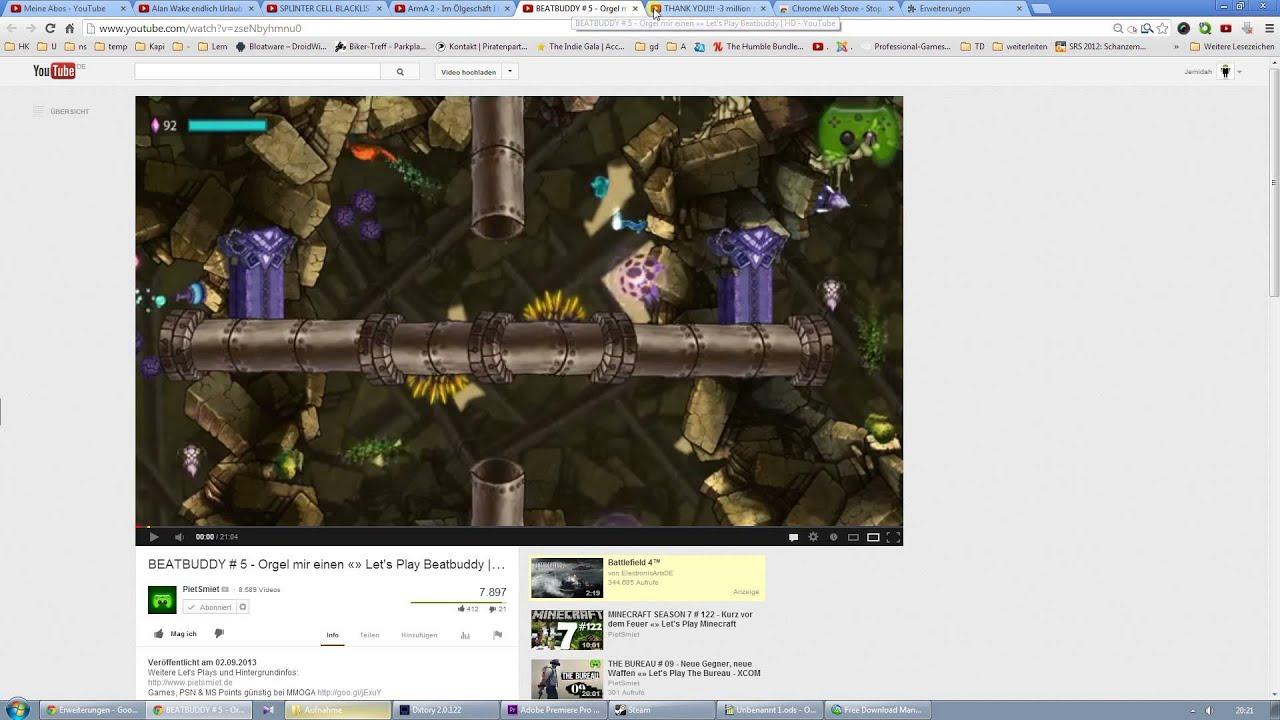 Youtube Im Hintergrund