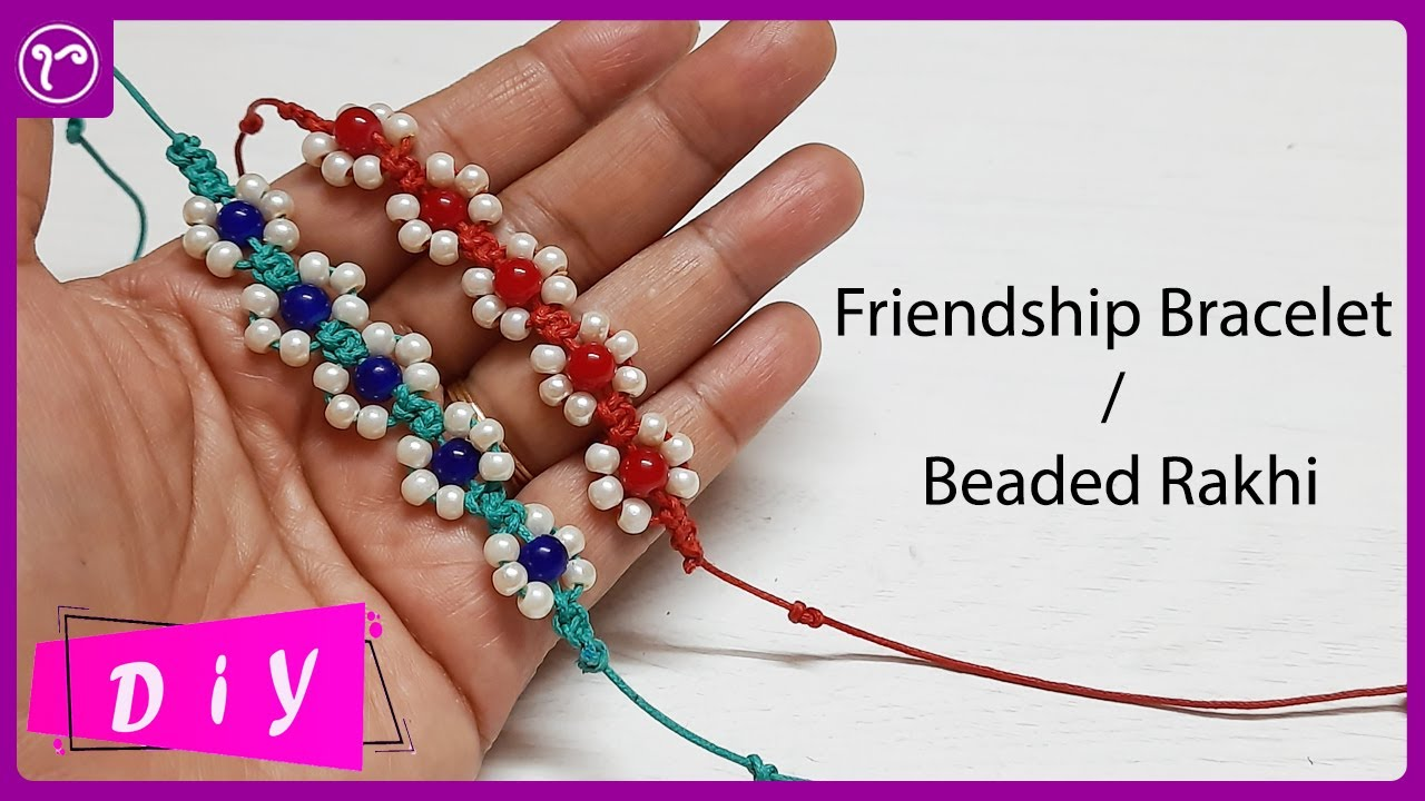 How to Make Friendship Bracelets at Home || Easy Tutorial for Beginners || Rubeads Jewelry DIY