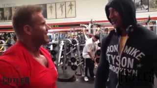 Jay trains arms at Golds Venice cameo by The Rock and more...