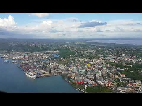 City Scenic Over Suva Harbour - South Pacific Aviation Training Institute