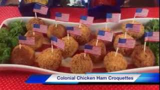 Colonial Chicken Ham Croquettes